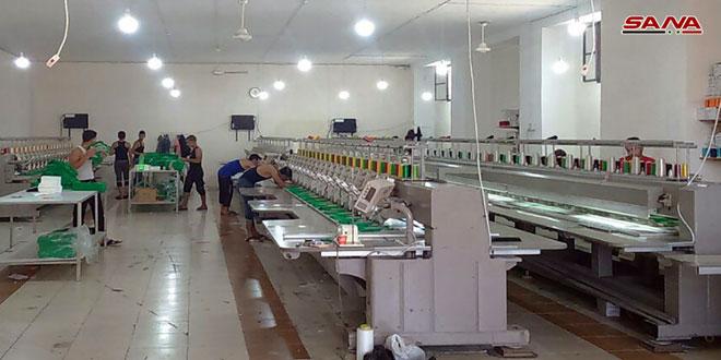 После ликвидации терроризма в Алеппо восстанавливается промышленное производство в квартале Аль-Катраджи