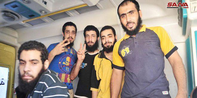В районе Дараа Аль-Баляд освобождены 5 граждан, похищенных террористами