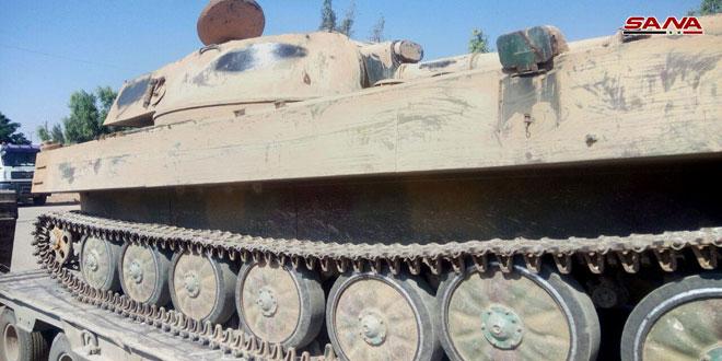 Боевики из Дараа Аль-Баляд сдают тяжёлое вооружение Сирийской армии