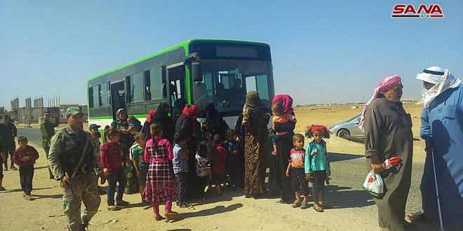 В населенные пункты провинций Алеппо, Хама и Идлеб вернулась новая группа местных жителей