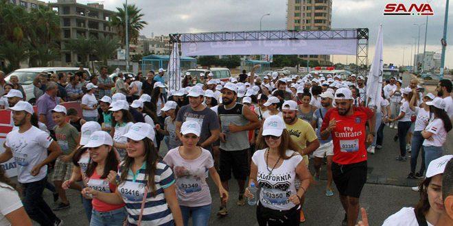 В городах Латакия, Тартус, Алеппо, Хомс, Сувейда, Хама и Дамаск проходит марафон «Сирия — мир»