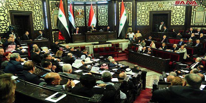 На заседании Народного совета САР обсуждалась работа министерства связи и технологий