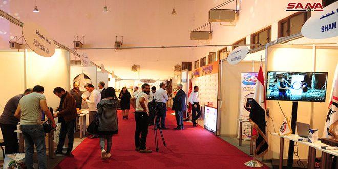 В Дамаске проходит Международная выставка «Медиа-Экспо – Сирия»
