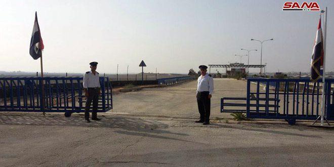 Завершены последние меры для возобновления работы КПП «Насиб»