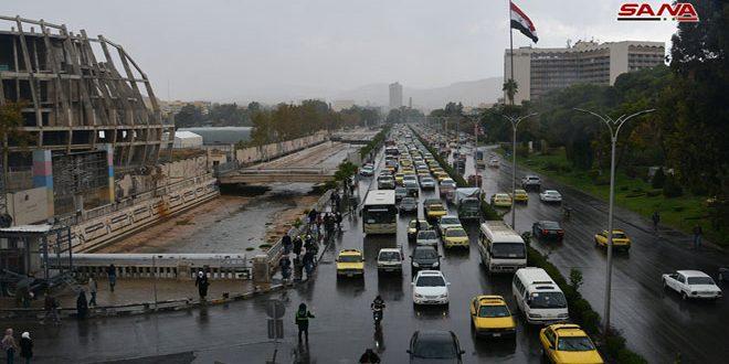 Дождь в Дамаске