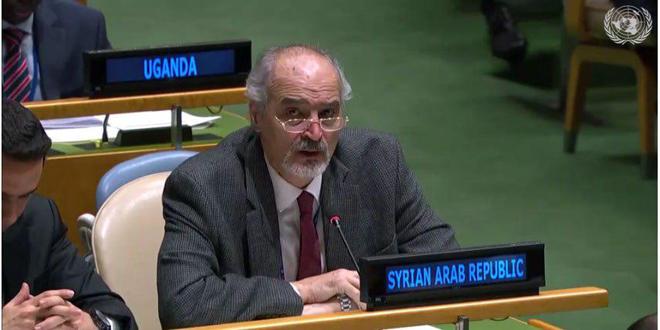 Аль-Джафари: Проект резолюции о положении в области прав человека в Сирии несбалансирован