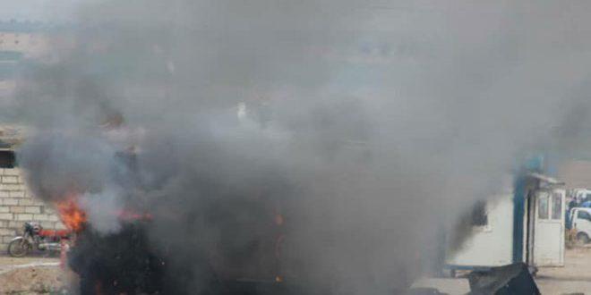 В провинции Хасаке в результате взрыва заминированного автомобиля пострадали 2 американских солдата