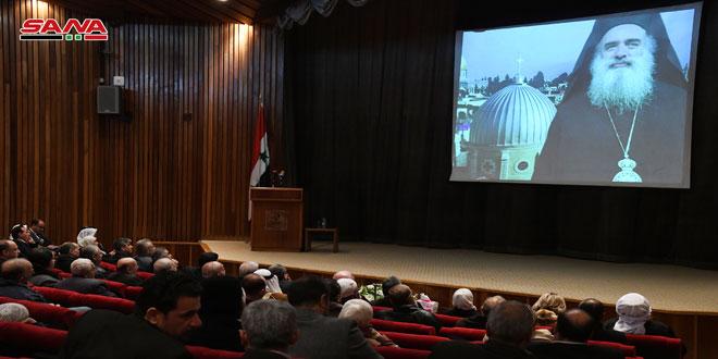 В Дамаске отметили вторую годовщину со дня смерти архиепископа Капуччи