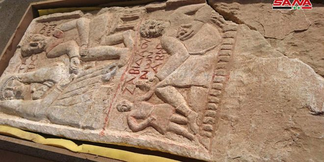 В провинции Дейр-эз-Зор компетентные органы пресекли попытку контрабанды древней фрески