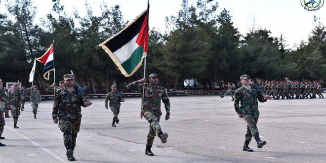 В Дамаске состоялся выпуск курса офицеров-спецназовцев