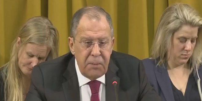 Лавров: Западные страны игнорируют применение химического оружия террористами в Сирии