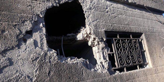 Террористические группировки совершили ракетный обстрел поселка Шатха провинции Хама