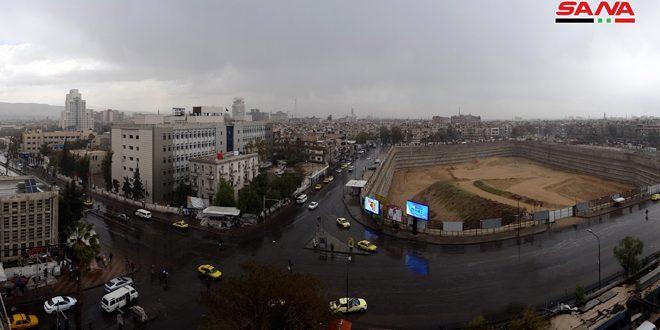 Дождь в Дамаске (фоторепортаж)