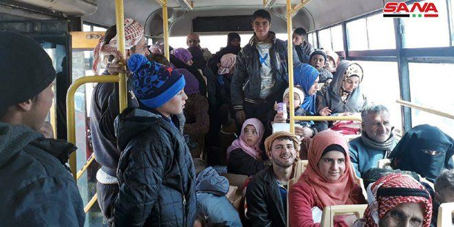 Новая группа перемещенных лиц вышла из лагеря «Ар-Рукбан»