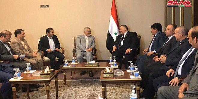 Саббаг и Боруджерди обсудили пути укрепления отношений между двумя странами