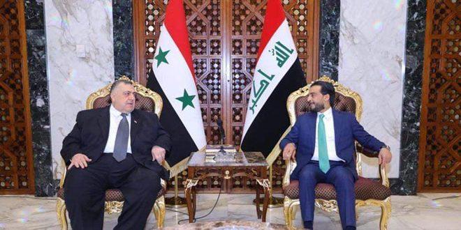 Делегация Народного совета САР прибыла в столицу Ирака для участия в конференции