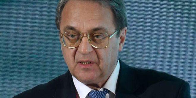Богданов обсудил с православной делегацией Северной Америки ситуацию в Сирии и на Ближнем Востоке в целом