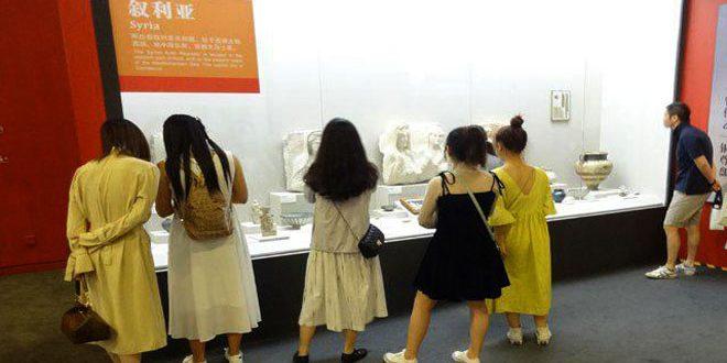 Сирийские экспонаты привлекают посетителей на выставку «Шедевры Азии» в Пекине