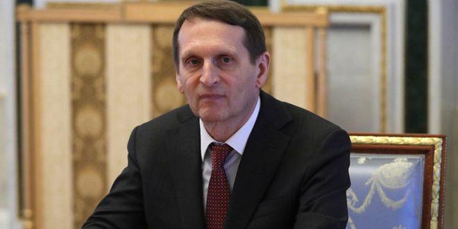 Нарышкин: Запад потратил миллиарды долларов на поддержку так называемой «вооруженной оппозиции» в Сирии