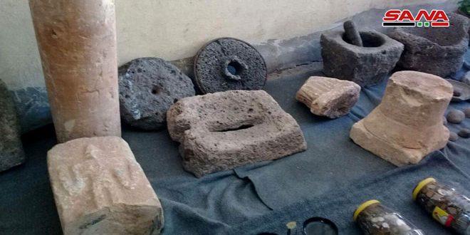 На севере провинции Хомс изъята подготовленная к вывозу за границу коллекция древностей