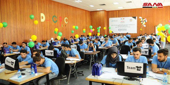 В Дамасском университете 34 команды приняли участие в 8-м конкурсе программирования