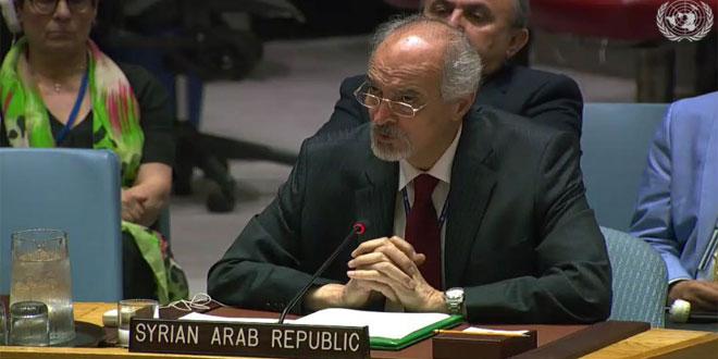 Аль-Джафари: Израильская оккупация арабских территорий – опасный вызов репутации и авторитету Устава ООН