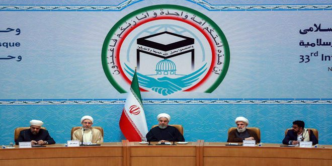 Сирия принимает участие в 33-й Международной конференции исламского единства в Тегеране