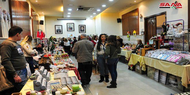 В дамасском квартале Баб-Тума открылся Благотворительный рождественский базар