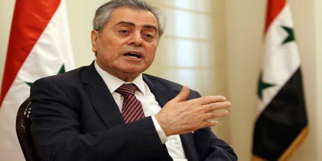 Абдель-Карим обсудил с ливанской делегацией ситуацию в Сирии и регионе