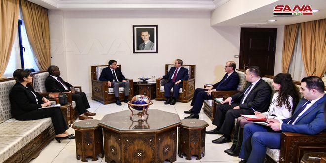 Аль-Мекдад: Сирия продолжит оказывать необходимую поддержку БАПОР
