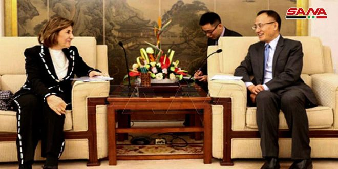 Шаабан и помощник главы МИД КНР обсудили двусторонние отношения
