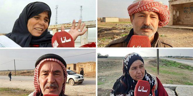 Жители провинции Хасаке: Открытие трассы Хасаке – Алеппо – это победа Сирийской армии