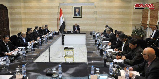 На совещании Кабинета министров САР обсуждался механизм выполнения указов №№ 3 и 4 от 2020 года, подписанных президентом Аль-Асадом