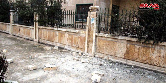 В Алеппо в результате террористических обстрелов погибли ребенок, две женщины и еще три человека получили ранения