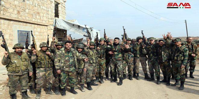 Армейцы развивают наступление на позиции террористов в Алеппо