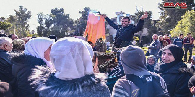 В Дамаске десятки национальных компаний приняли участие в инициативы «Все по одной лире»