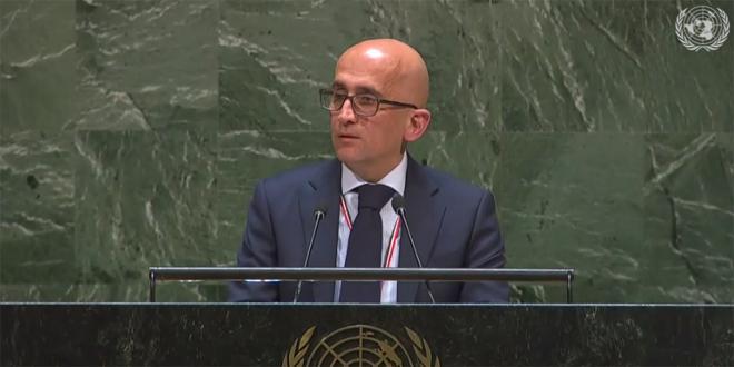 Аль-Арсан: Усилия ООН в отношении Сирии будут оставаться хрупкими, пока существуют принудительные экономические меры