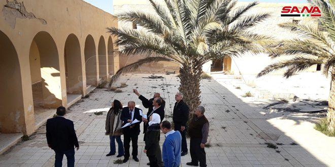 Министерство туризма установило план по восстановлению туристического центра и археологических памятников в Пальмире