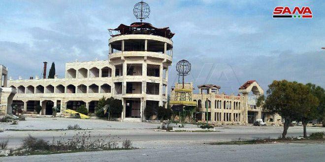 В освобожденных районах Алеппо и Идлеб насчитано 64 туристических объекта, поврежденных террористами