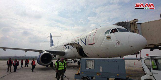 Международный аэропорт Алеппо возобновляет воздушное сообщение