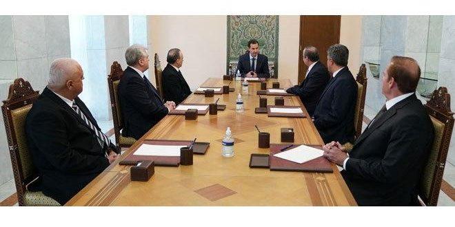 Новые губернаторы провинций Хомс, Кунейтра, Дараа и Хасаке принесли присягу перед президентом САР