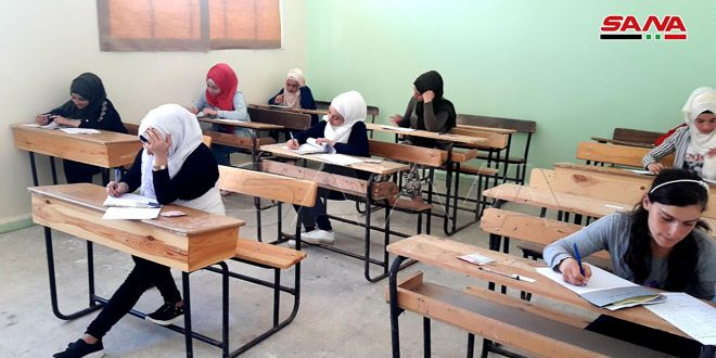 В Тадморе впервые за шесть лет проводятся экзамены по общему базовому образованию