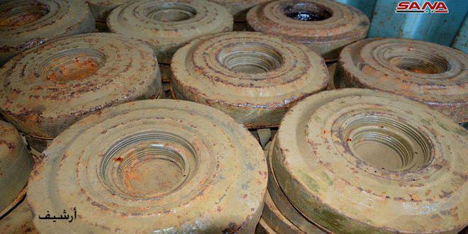 В поселке Умм-Валяд провинции Дараа в результате взрыва мины несколько рабочих получили ранения