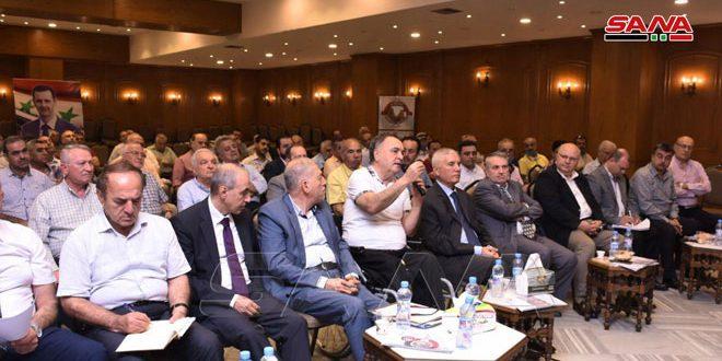 В Алеппо состоялось ежегодное заседание членов Торговой палаты