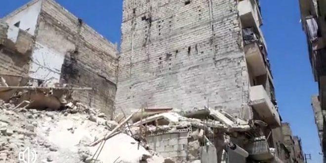 В Алеппо при обрушении дома погиб рабочий, двое других пострадали