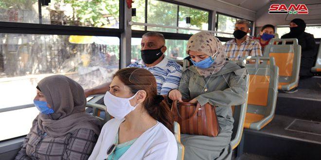 В Сирии ношение масок стало непременным атрибутом жизни