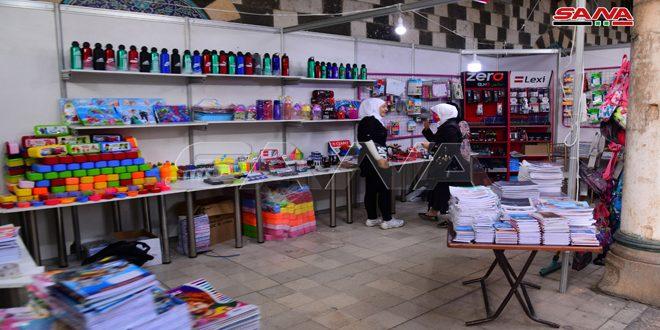 В центре Дамаска открыта ярмарка при участии 40 сирийских промышленных компаний