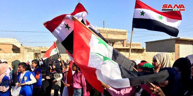 В провинции Хасаке местное население протестует против американской и турецкой оккупации
