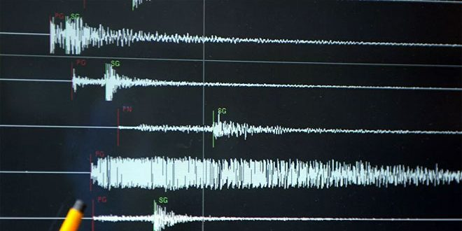 Два землетрясения произошли к северо-востоку от города Латакия