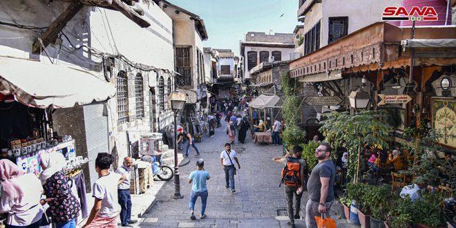 в Дамаске — жизнь бьет ключом (фото)